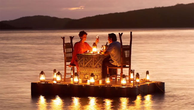 World's most romantic honeymoon
