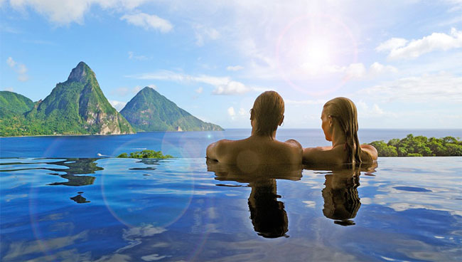 Destination wedding in St Lucia